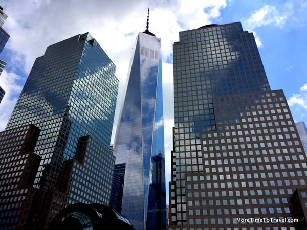 The Freedom Tower, tallest skyscraper in the Western Hemisphere