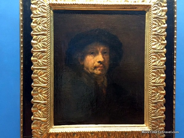 Self-portrait by Rembrandt