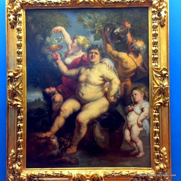 Bacchanali by Rubens