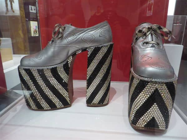Elton John's High Heels
