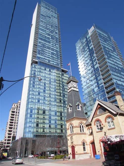 Four Seasons Hotel and Toronto Fire Hall