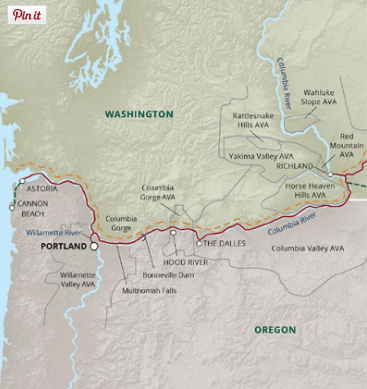 Route of S.S. Legacy (Credit: Un-Cruise Adventures)