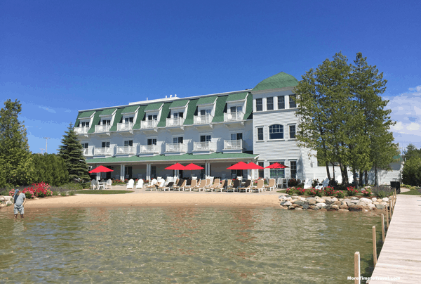 Hotel Walloon, from a lake dock