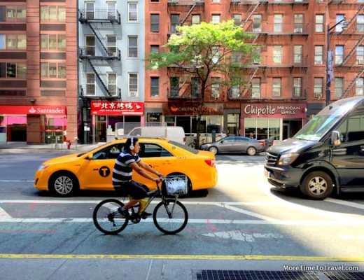 Eighth Avenue (Hell's Kitchen) outside the Hampton Inn Manhattan - Times Square North