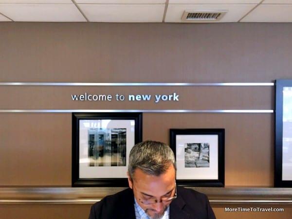 Reception Desk at Hampton Inn Manhattan - Times Square North