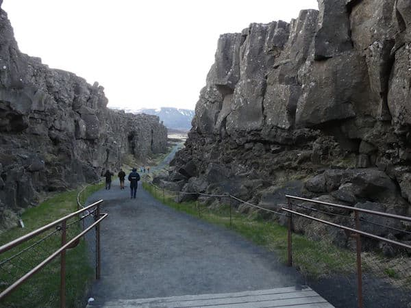 Tectonic plates North America and Europe