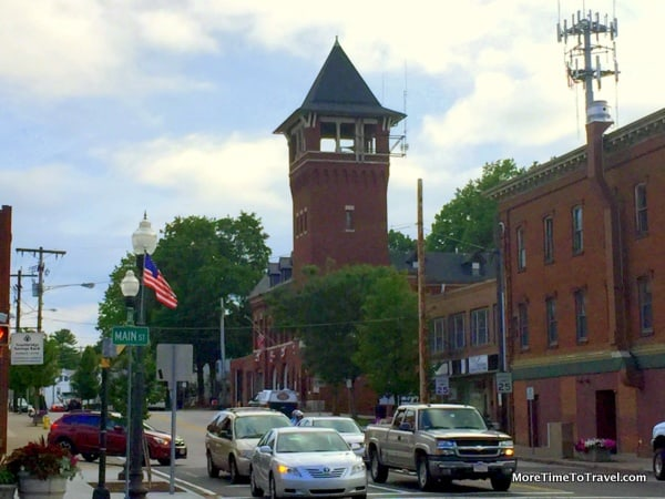 View of Main Street in Southbridge