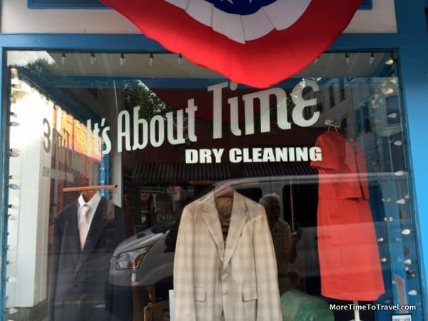 Dry cleaner off Main Street in Southbridge