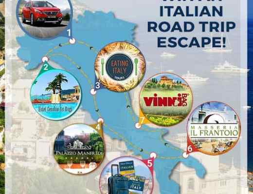 AutoEurope Italian Road Trip Escape Sweepstakes