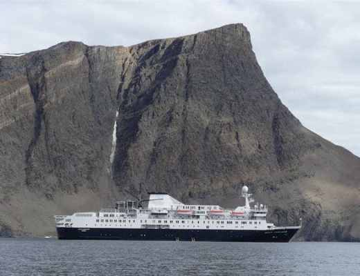 Ocean Endeavour in Torngat National Park