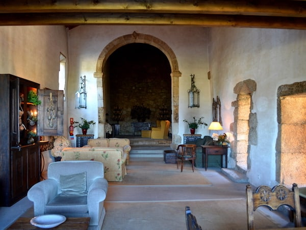 Public Lounge at Pousada de Belmonte
