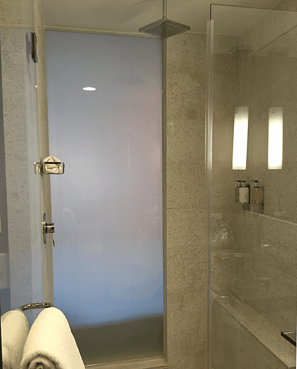 The gentle rainshower shower stall.