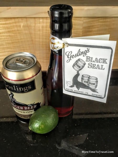 "Simple Ingredients for Dark ""N"" Stormy"