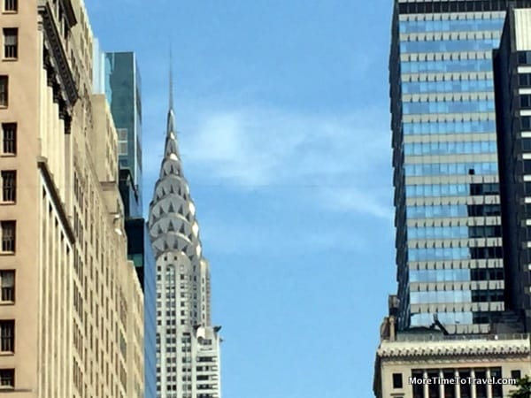 View of the Art Deco Chrysler Building