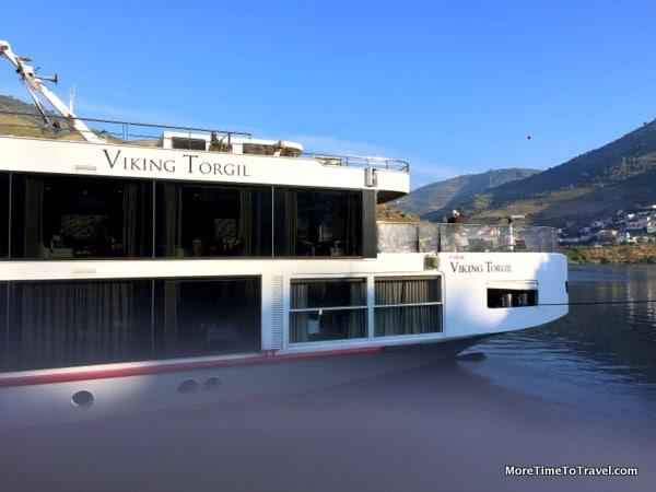 Viking Torgil docked in Gaia, Portugal