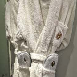 Comfy robes and slippers