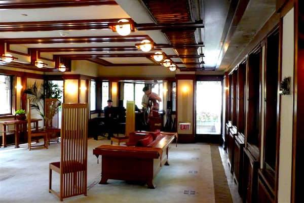 Interior of Robie House