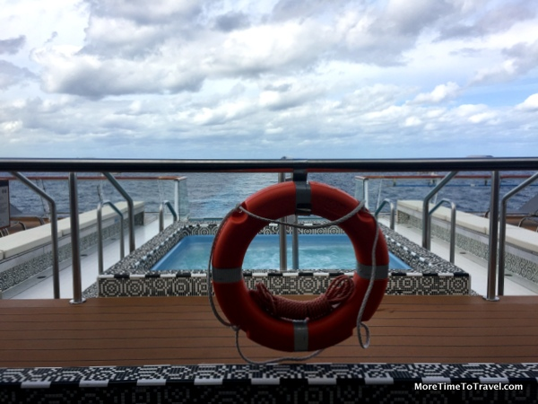 View of the Atlantic from the Aquavit Terrace on the Viking Star