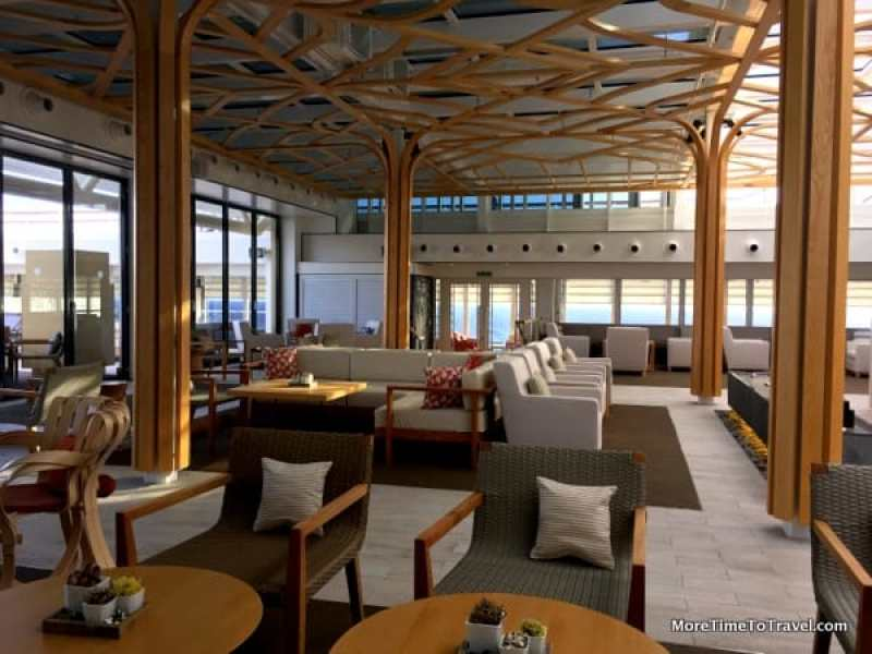 Perfect relaxation for the over-50 traveler: Spacious Winter Garden of the Viking Star