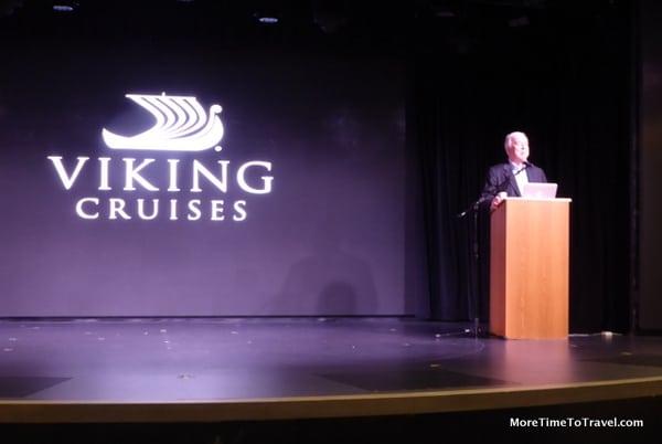 Viking founder and Chairman Torstein Hagen
