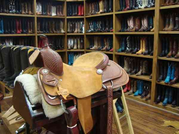 Boots and saddles for sale in Fort Worth