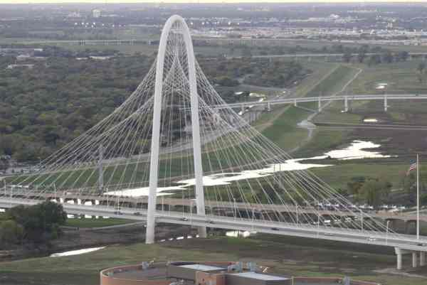 Innovative design of the Margaret Hunt Hill Bridge