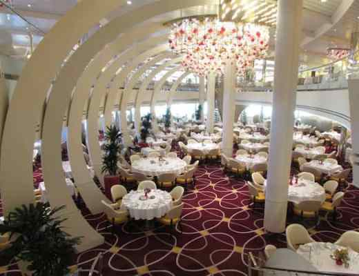 Main Dining Room on Holland America Line Koningsdam