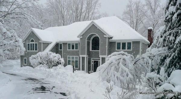 Chappaqua in winter