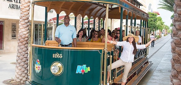 New Eco-Trolley (Credit: Aruba Tourism)