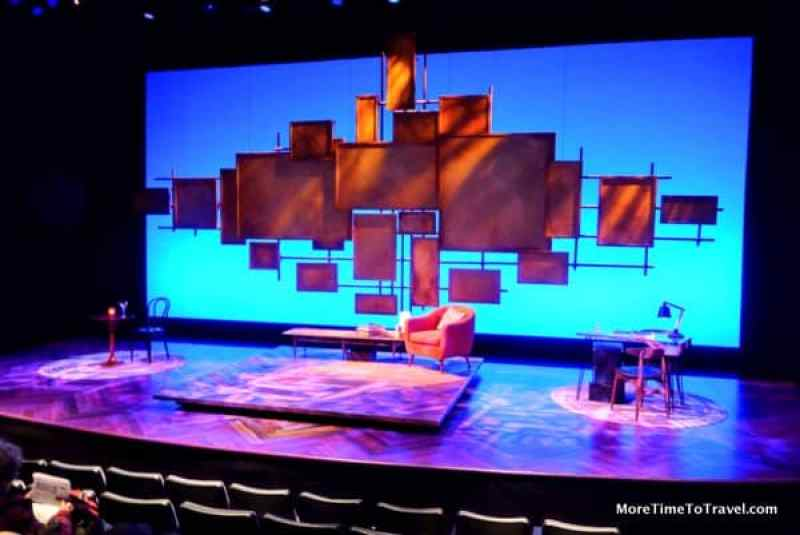"""The set for """"Not That Jewish"""""""