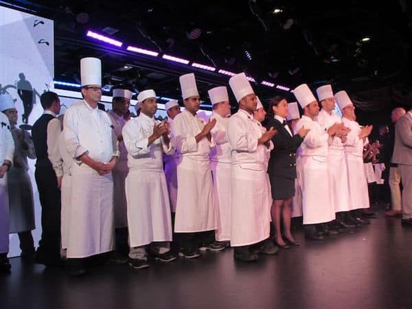 Chefs take a bow on Oceania Marina