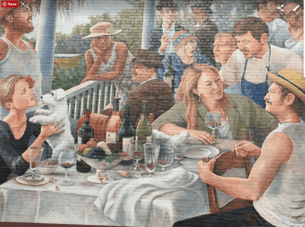 David Boatright mural in Charleston
