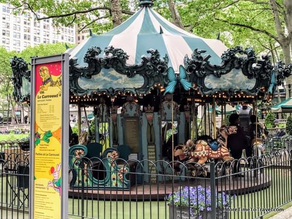 Le Carrousel at Bryant Park