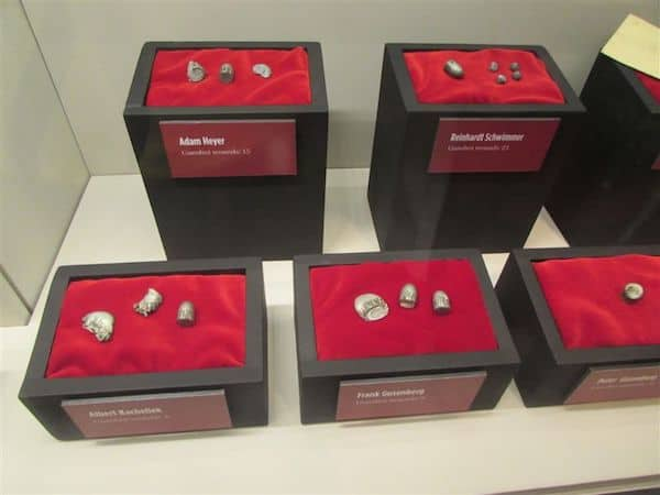 Bullets from victims of St. Valentine's Day Massacre at the Mob Museum