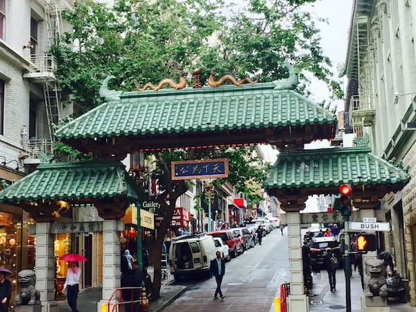 Experience San Francisco's diversity and a good glass of bubble tea in China Town (Credit: M. Ciavardini)