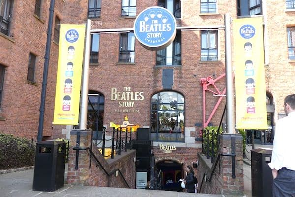 Entrance to the Beatles Story