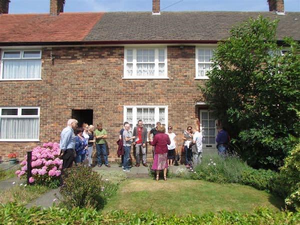 Outside Paul McCartney's Childhood Home