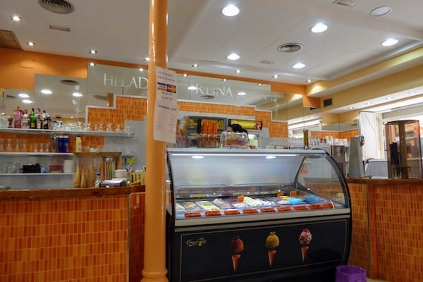 Ice Cream Shop in Cartagena, Spain
