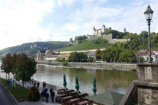 Castle in Wurtzburg, Germany