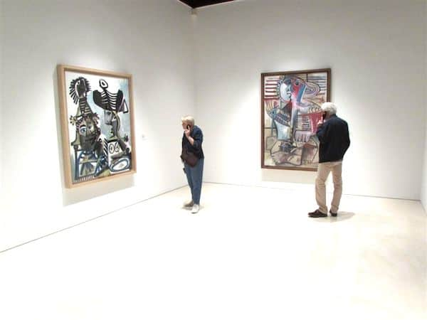 At the Picasso Museum in Malaga