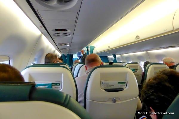 Air Dolomiti Embraer 195 Interior
