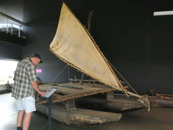 Early transportation on display at the Australian Museum