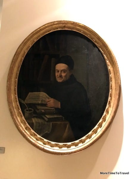 Portrait of Father Martini at the Music Museum