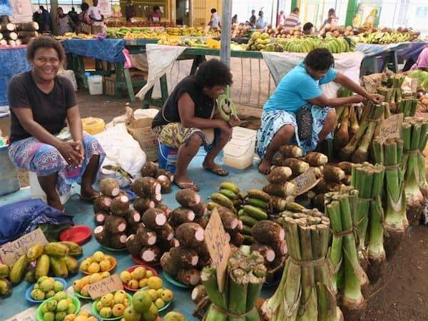 Market in American Samoa