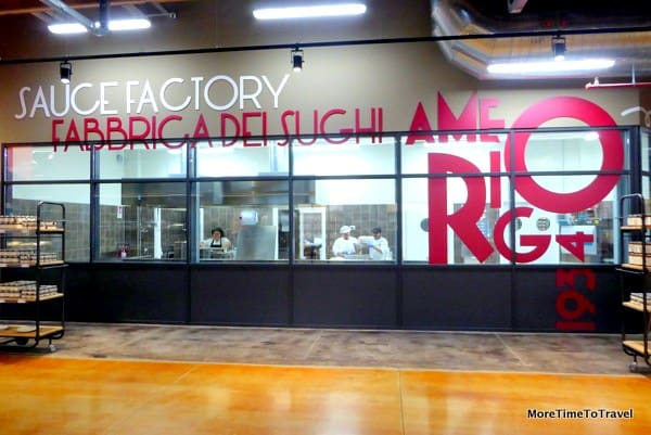 Sauce Factory of Amerigo 1934 at FICO Eataly World