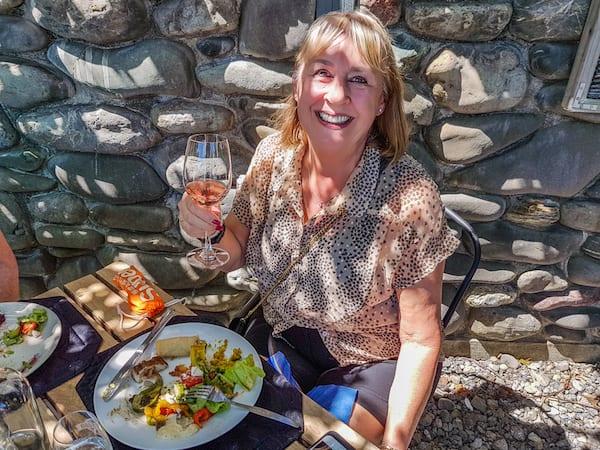Enjoying a wine-tasting at Blenheim Forrest Estate