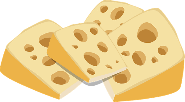 "North American ""Swiss Cheese"" (Credit: Pixabay)"