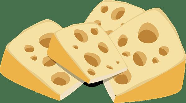 "North American ""Swiss Cheese"" (Credit: Pixabay)"