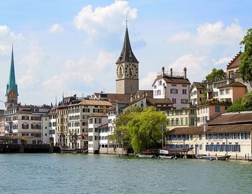 View of Zurich (Credit: Pixabay)