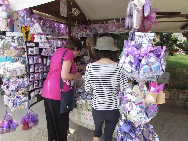 Lavender stand in Hvar